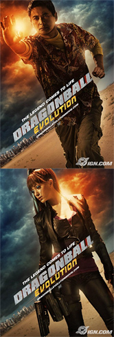 Dragonball Evolution Poster - Roshi and Bulma Posters