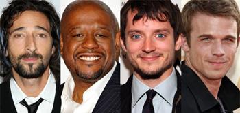 Adrien Brody, Forest Whitaker, Elijah Wood, Cam Gigandet
