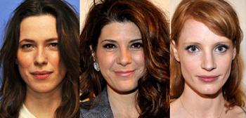 Rebecca Hall, Marisa Tomei, Jessica Chastain