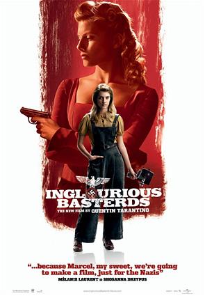 Inglourious Basterds Poster - Mélanie Laurent