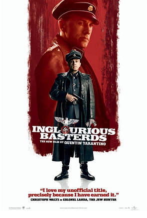 Inglourious Basterds Poster - Christoph Waltz