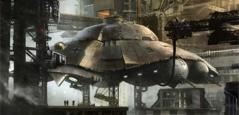 Iron Sky Concept Art