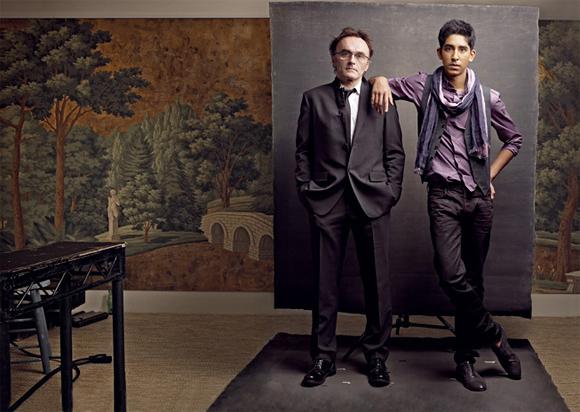 Danny Boyle and Dev Patel