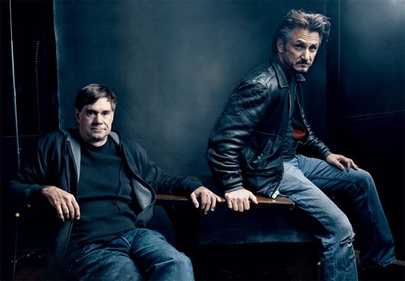 Gus Van Sant and Sean Penn