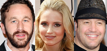Chris O'Dowd, Dianna Agron, Kevin James