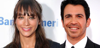 Rashida Jones and Chris Messina