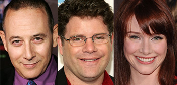 Paul Reubens, Sean Astin, Bryce Dallas Howard