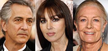 David Strathairn, Monica Belluci, Vanessa Redgrave