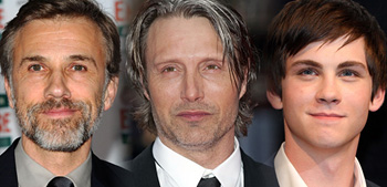 Christoph Waltz, Mads Mikkelsen, Logan Lerman