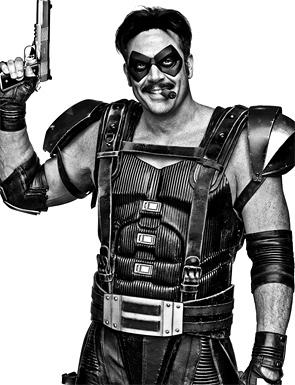 Watchmen Portraits - The Comedian