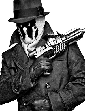 Watchmen Portraits - Rorschach