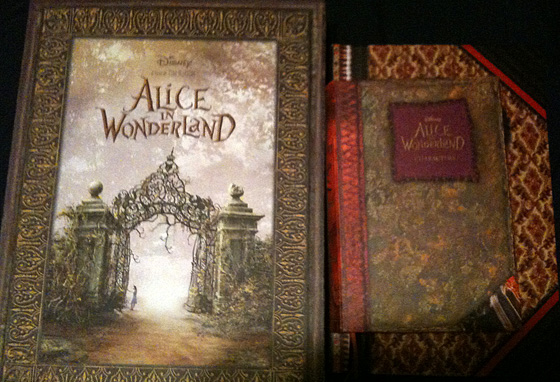 Alice in Wonderland Promo Book Photos