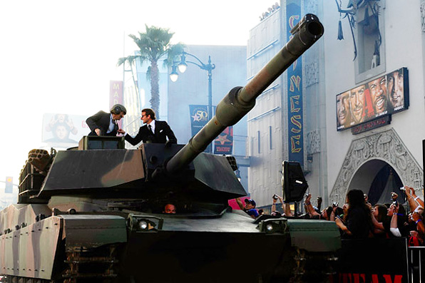 A-Team Premiere Tank