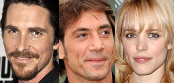 Christian Bale, Javier Bardem, Rachel McAdams