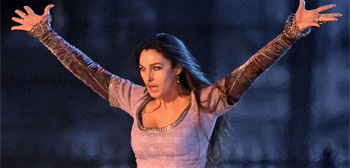 Monica Bellucci in Disney's The Sorcerer's Apprentice