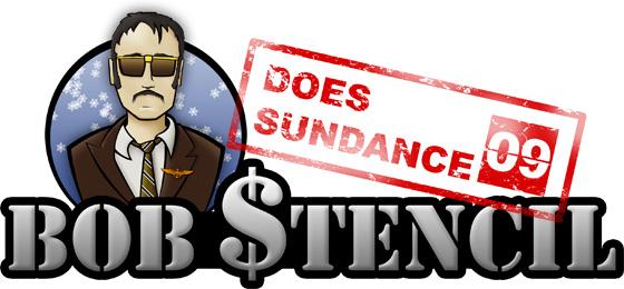 Bob Stencil Does Sundance