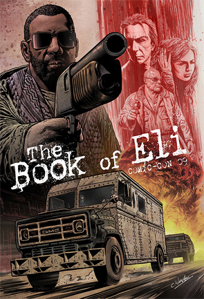 Chris Weston's Book of Eli Comic-Con Posters