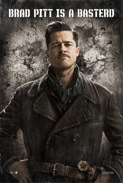 Brad Pitt is a Basterd