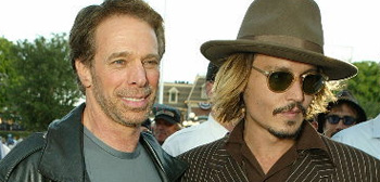 Jerry Bruckheimer and Johnny Depp
