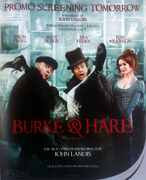 John Landis' Burke & Hare Promo Poster