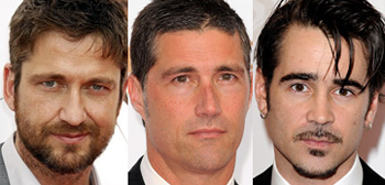 Gerard Butler, Matthew Fox, Colin Farrell