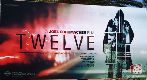 Cannes - Joel Schumacher's Twelve