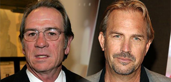 Kevin Costner and Tommy Lee Jones