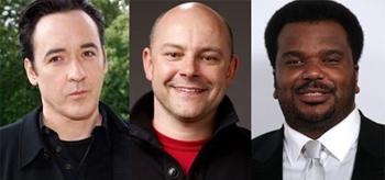 John Cusack, Rob Corddry, Craig Robinson