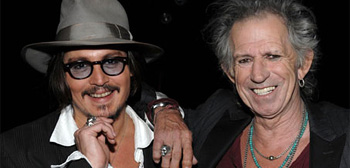 Johnny Depp & Keith Richards
