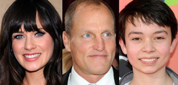 Zooey Deschanel, Woody Harrelson, Noah Ringer