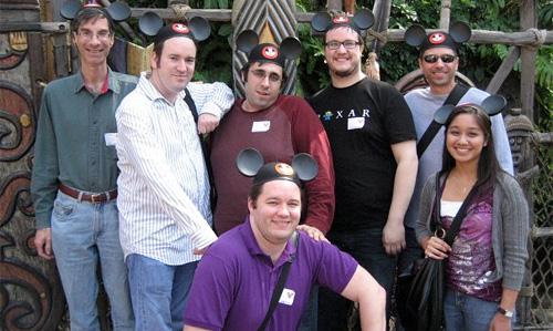 Disneyland Group Photo