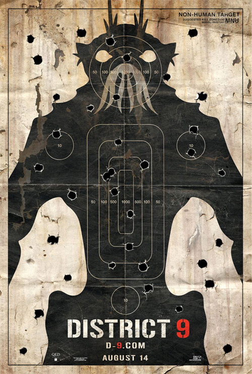 District 9 Poster - Non-Human Target