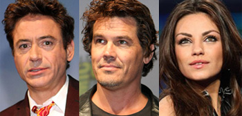 Robert Downey Jr, Josh Brolin, Mila Kunis