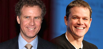Will Ferrell and Matt Damon