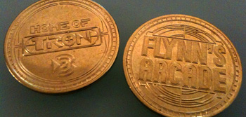 Flynn's Arcade Tokens