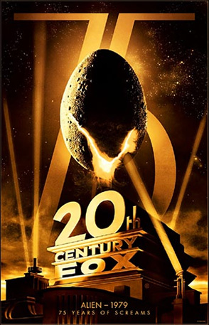 20th Century Fox 75th Anniversary - Alien