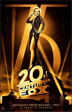 20th Century Fox 75th Anniversary - Gentlemen Prefer Blondes