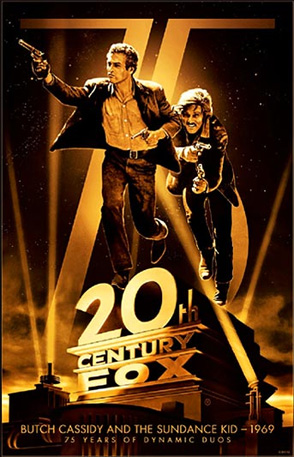 20th Century Fox 75th Anniversary - Butch Cassidy and the Sundance Kid