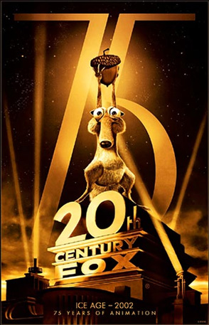 20th Century Fox 75th Anniversary - Ice Age