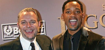 Francis Lawrence and Will Smith