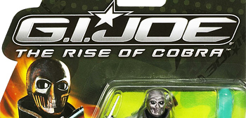 Closer Look at the Bad Guys from G.I. Joe: Rise of Cobra