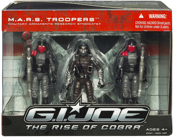 M.A.R.S. Troopers Toy