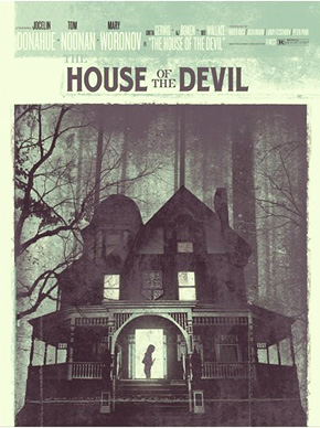 The House of the Devil Mondo Poster