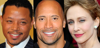 Terrence Howard, Dwayne Johnson, Vera Farmiga