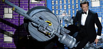 Hugh Jackman Batpod Oscars