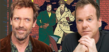 Hugh Laurie and Kiefer Sutherland