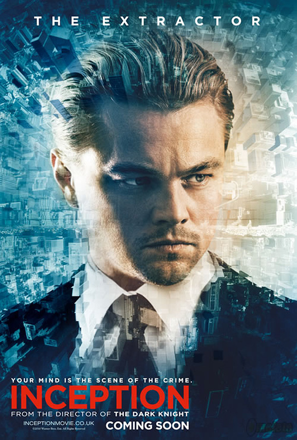 Inception Poster - Leonardo DiCaprio
