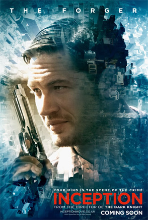 Inception Poster - Tom Hardy
