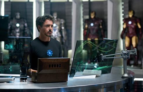 First Iron Man 2 Photo