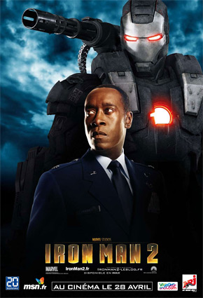 Iron Man 2 Poster - War Machine